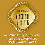 Allianz Global Assistance Miglior Compagnia Travel 2016